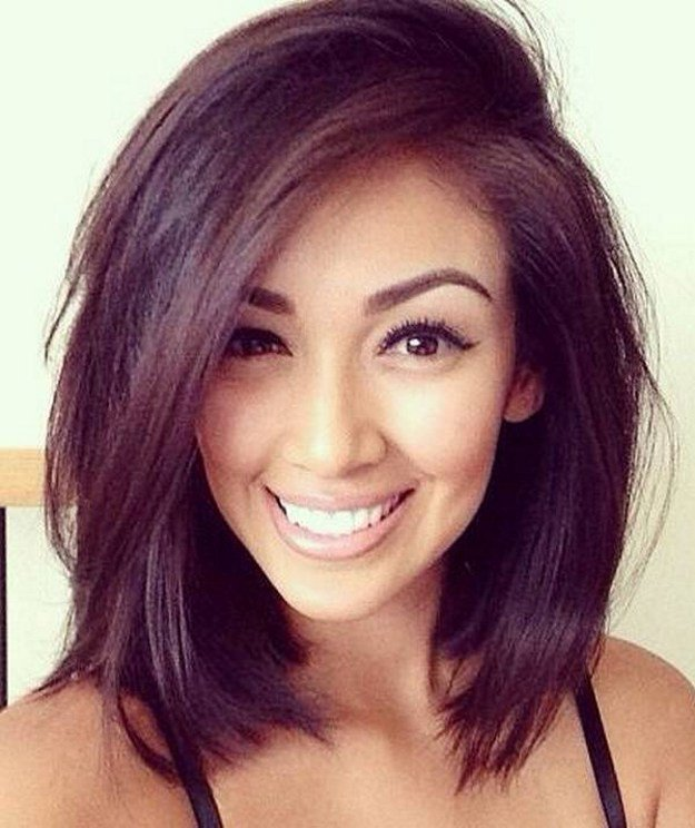 25 Cute Medium Haircuts And Hairstyles For Girls 2021 Edition