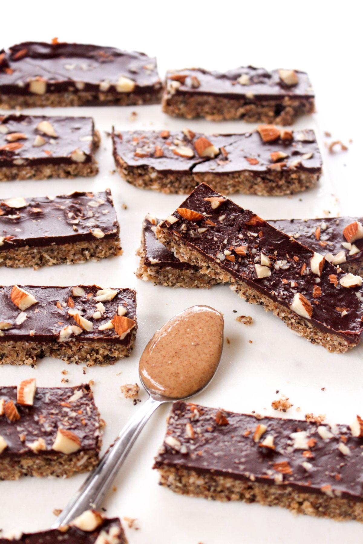 Almond joy protein bars easy recipe