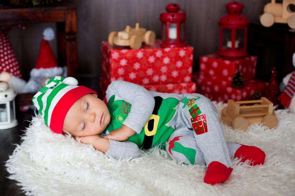Baby costumes for boy christmas elf