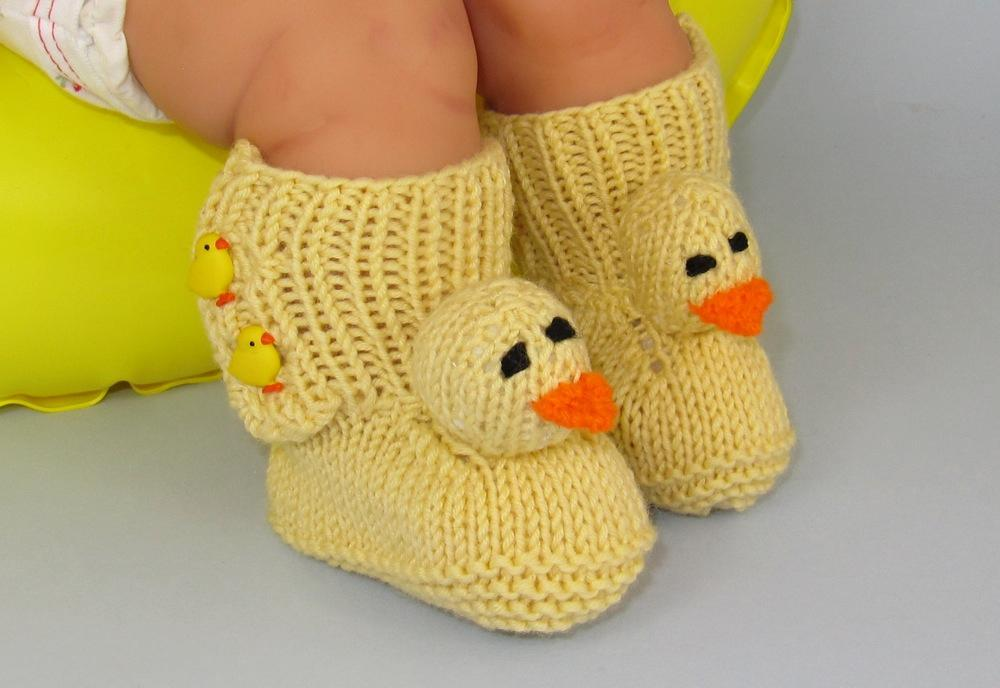 Knitted Baby Booties That Make Perfect Shower Gifts
