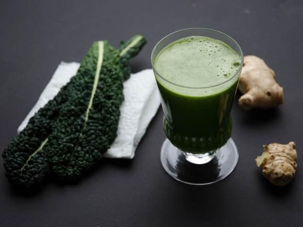 Balanced green juice