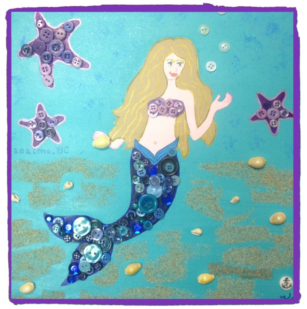 Button mermaids