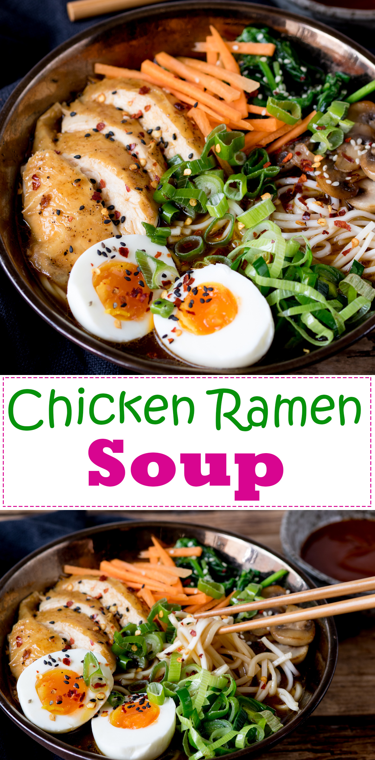 Chicken ramen soup diy pinterest