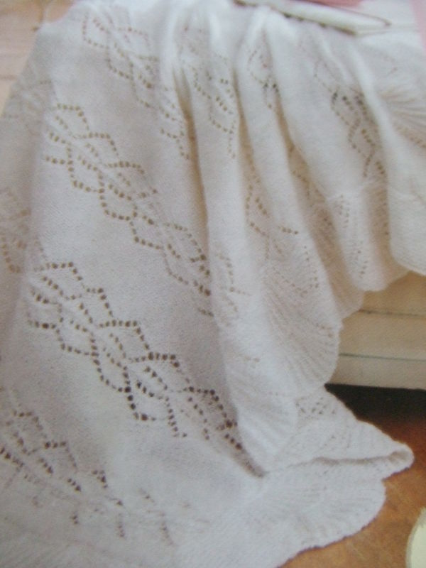 Intricate Lace Baby Blankets For Experienced Knitters