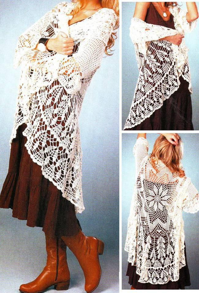 a91a46413 Crochet Lace Sweaters That Will Make People Say