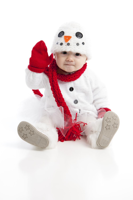 Cute baby halloween costumes snowman