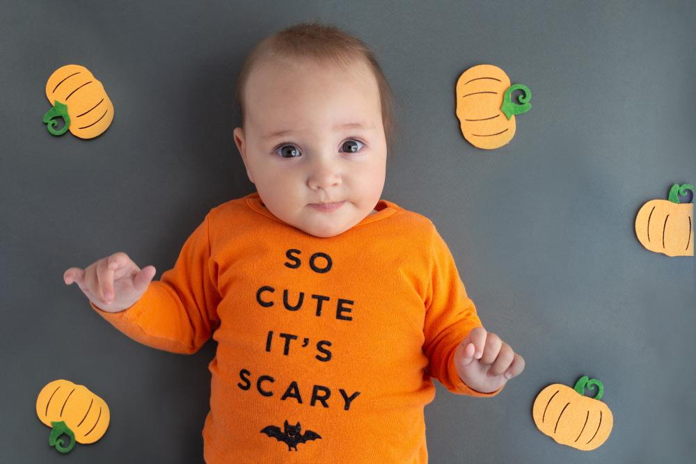 Diy baby costume funny text costumes