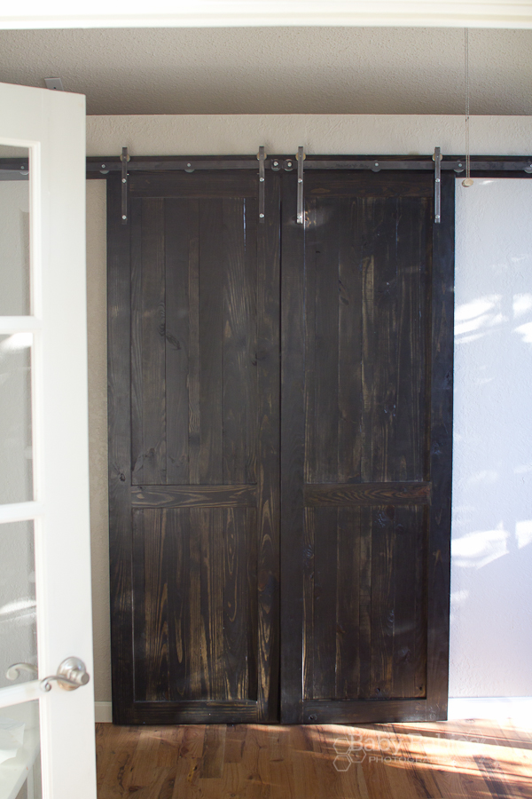 Diy barn door divider