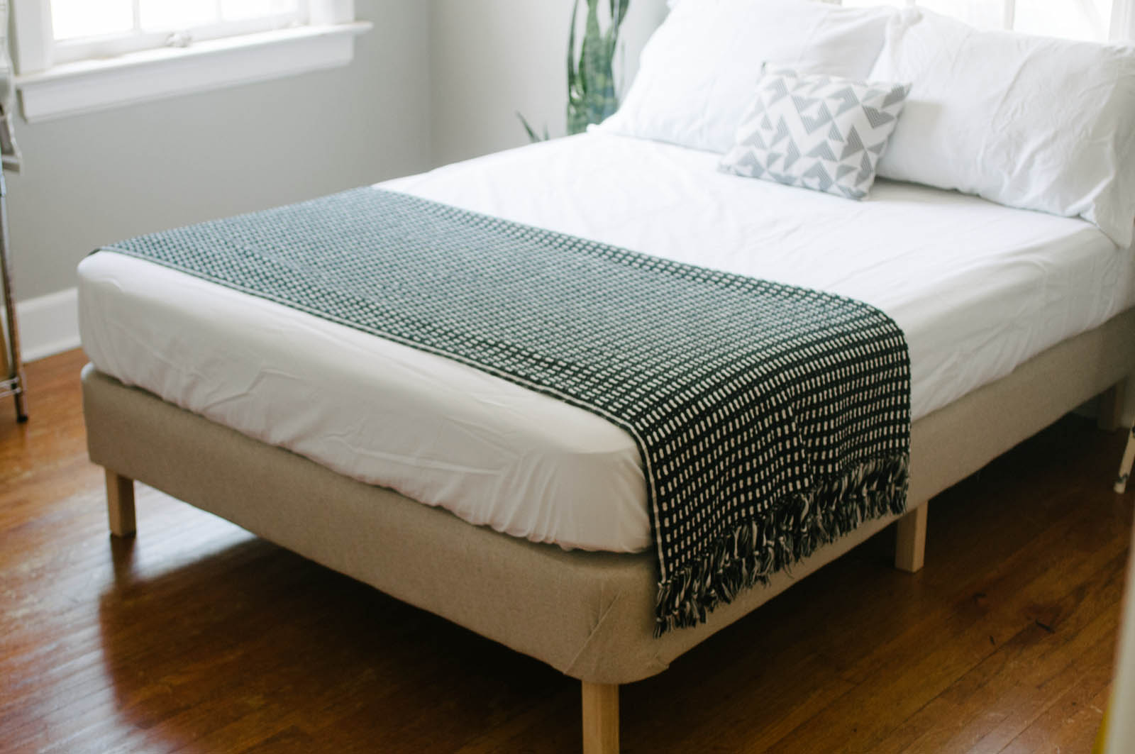 Diy Upholstered Metal Bed Frame