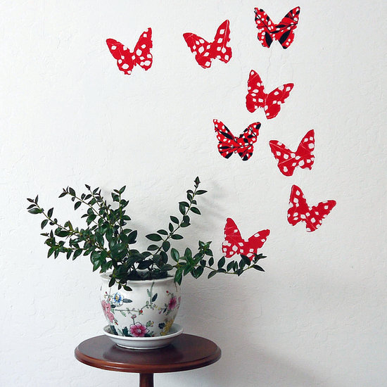 Diy butterfly decal
