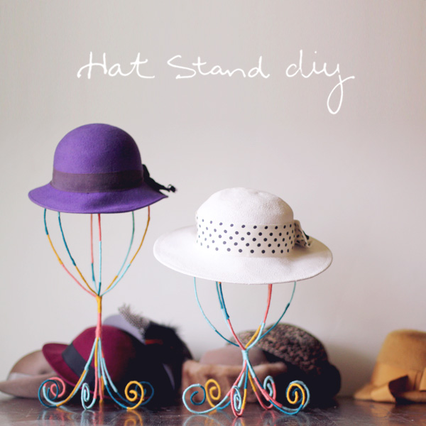 Diy hat stand diy