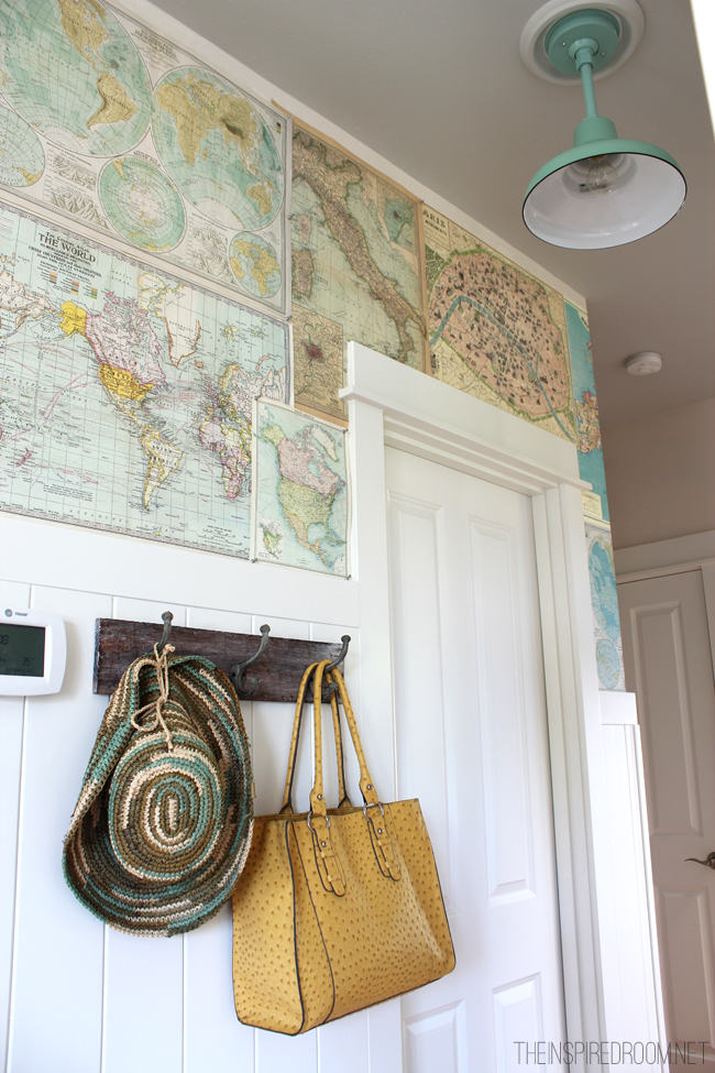 Diy Map Wallpaper Decal. You Can Use Map To ...