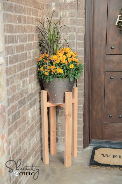 Flower Stand Designs : Diy plant stands that hold the product of your green thumb
