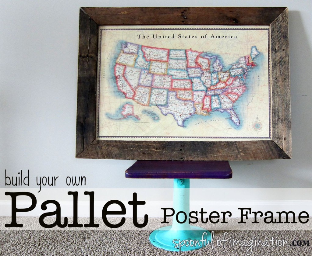 Diy poster frame Hang Your Favorites With
