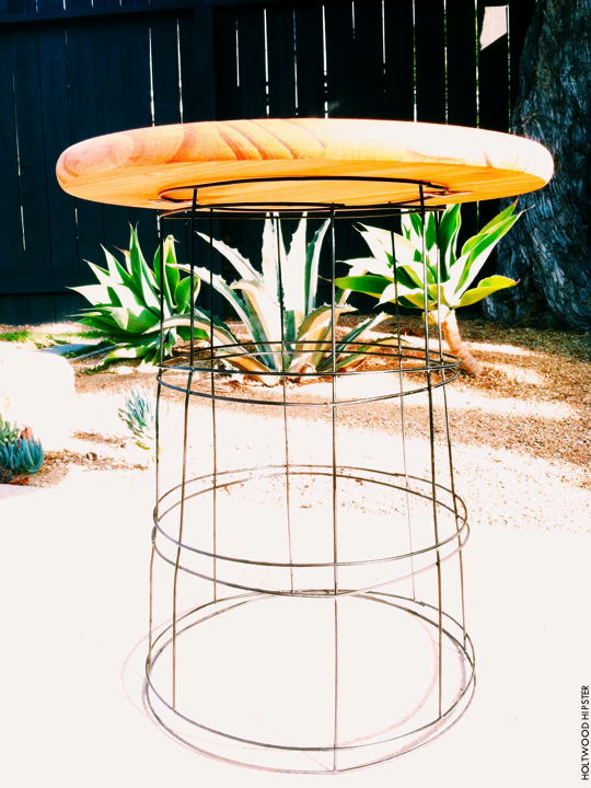 Diy wire table