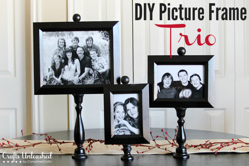 Diy picture frame trio