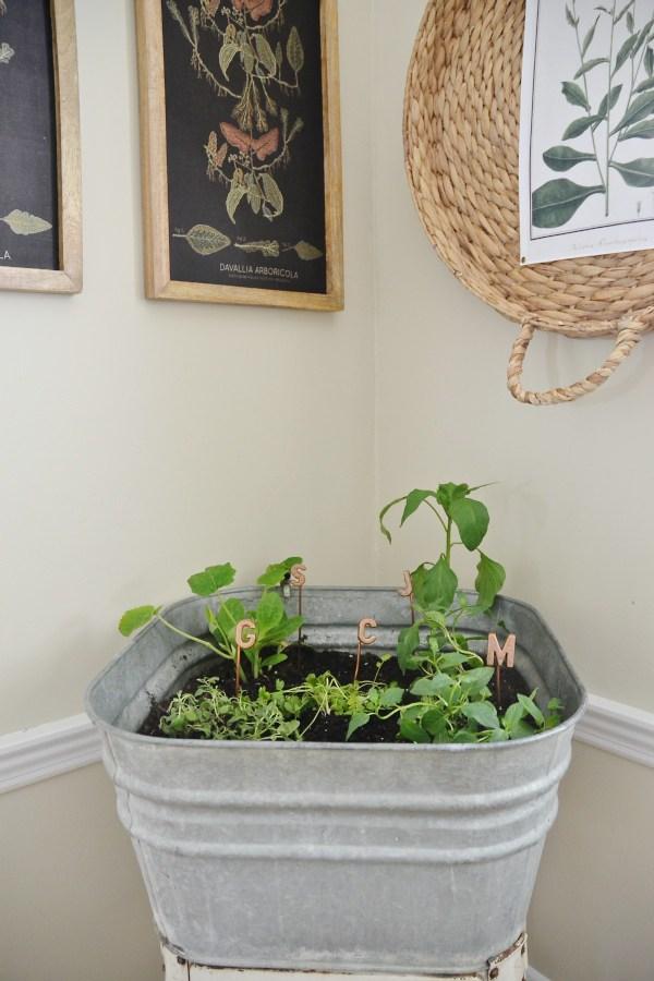 Diy wash tud plant stand