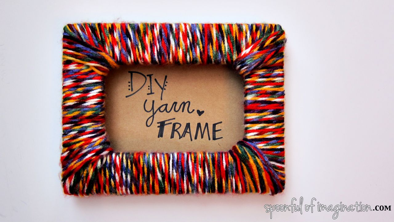 Diy yarn frame
