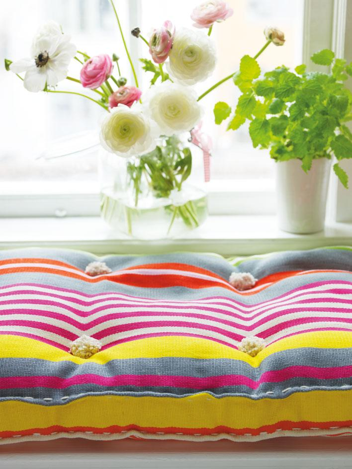 diy bench cushion