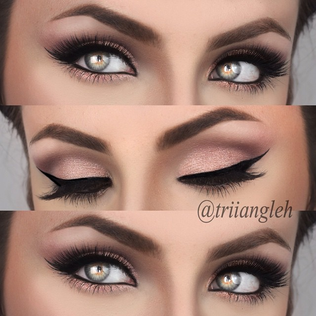 how to bring out dark brown eyes