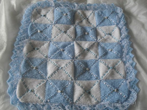 Double layer stroller blanket