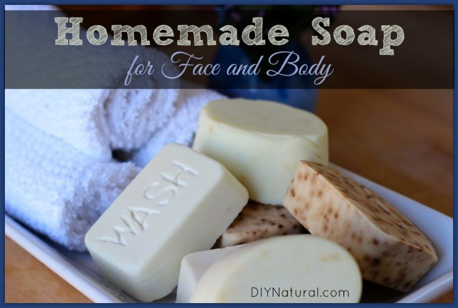 Esesntial oil and herb soap