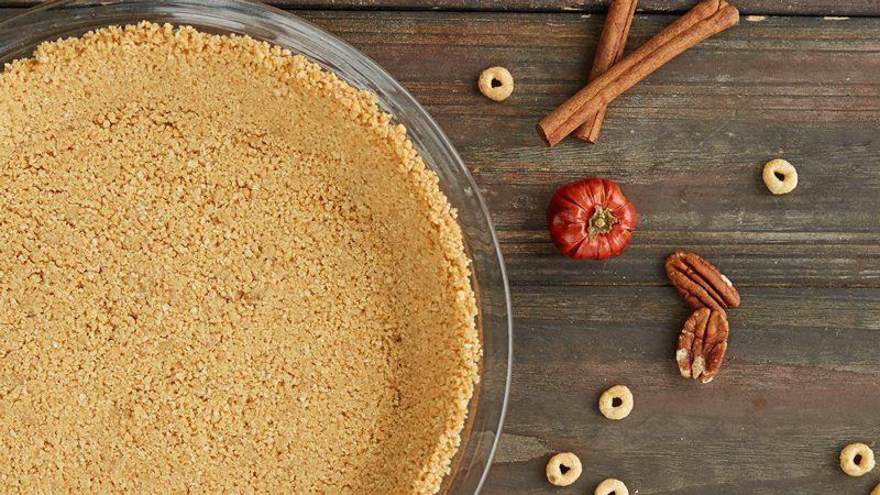 Gluten free cheerios crumb crust