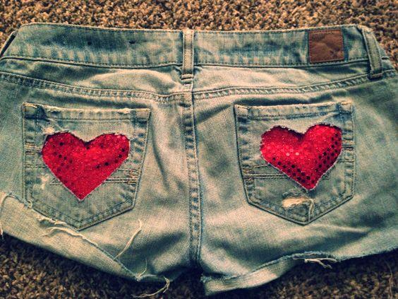 Heart pocket cut otus