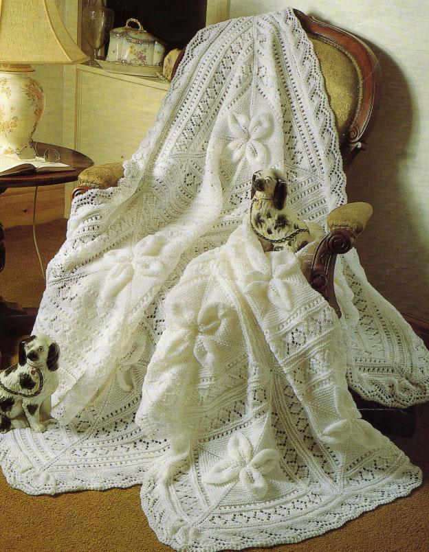 Heirloom crib blanket