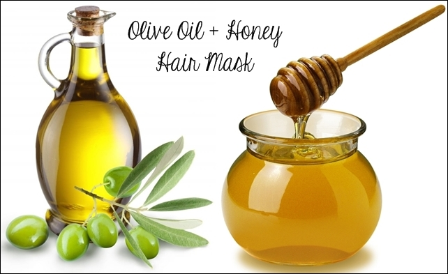 Honey and olive oil mask