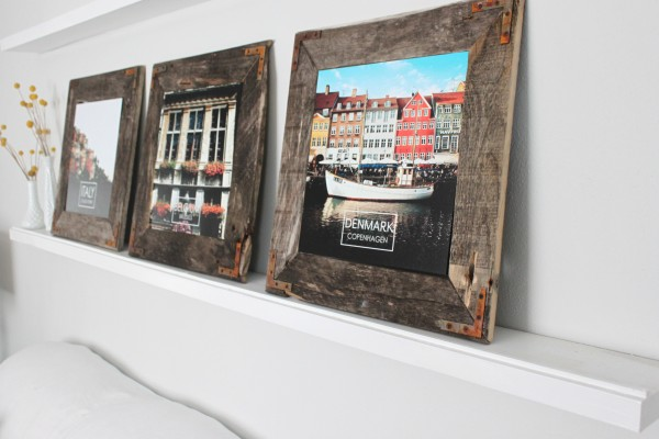 Industrial picture frame