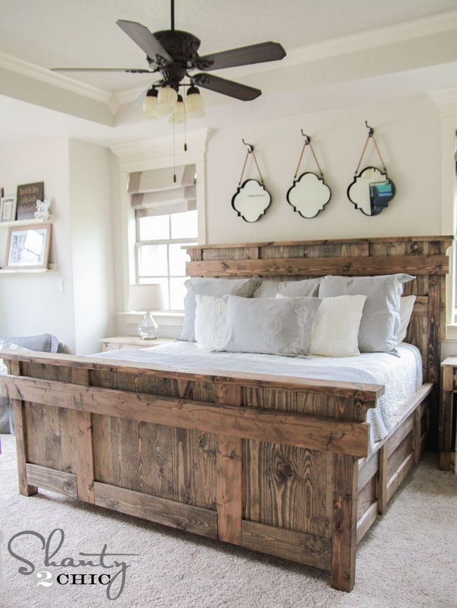 wood bed frame king. King Bed Diy Wood Frame