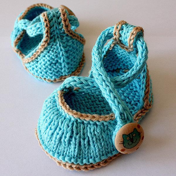 Kitten baby shoes