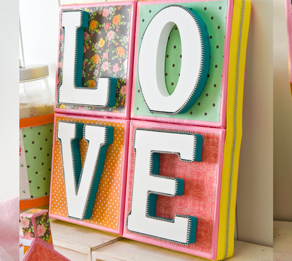Love canvas for valentines day
