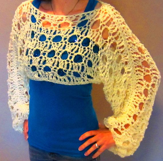 Crochet Lace Sweaters That Will Make People Say Oooo