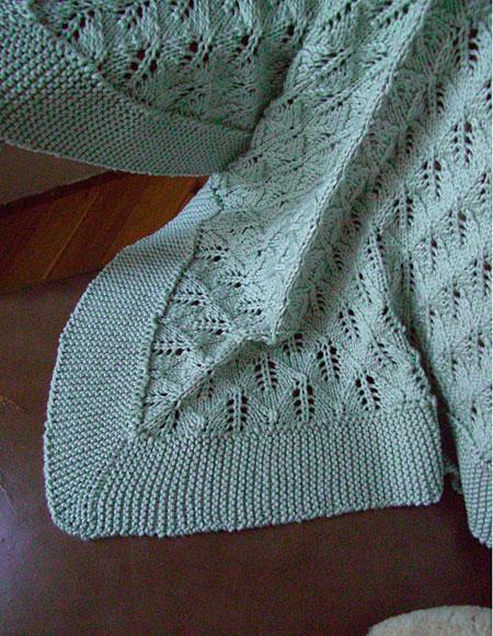 Larkin baby blanket