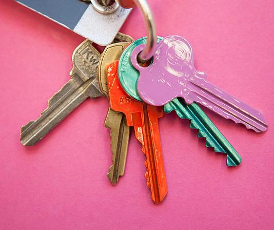Mark your keys