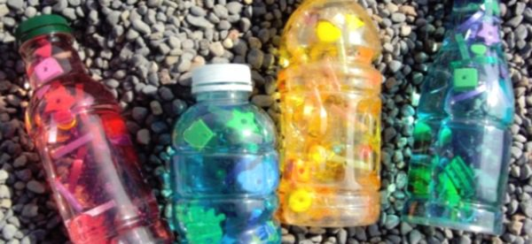 "Mermaid ""i spy"" bottles"