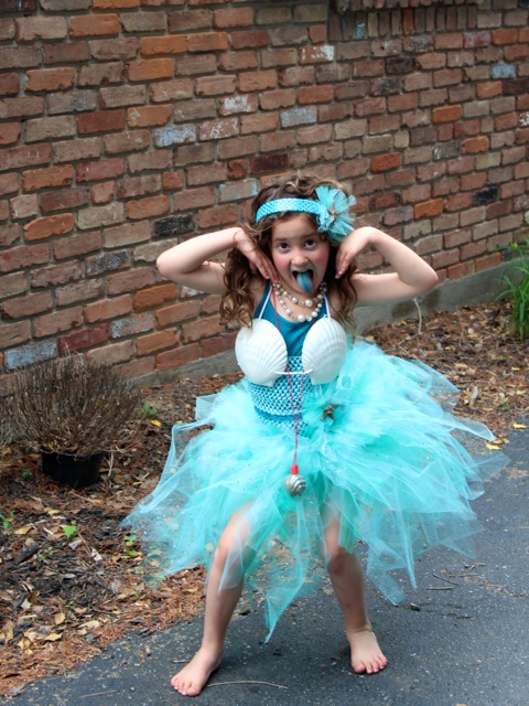 No sew mermaid tutu