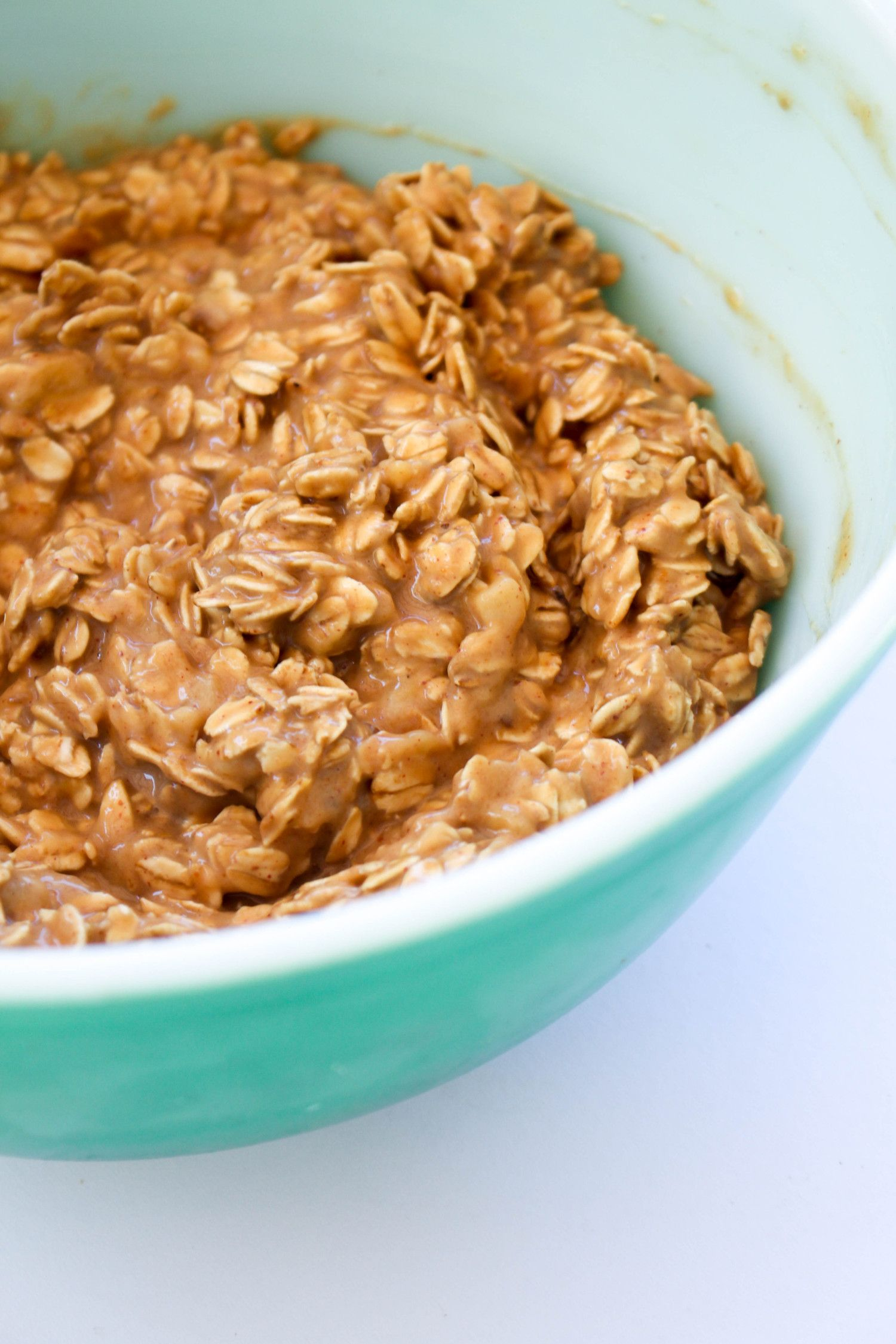 Peanut butter banana breakfast cookies m