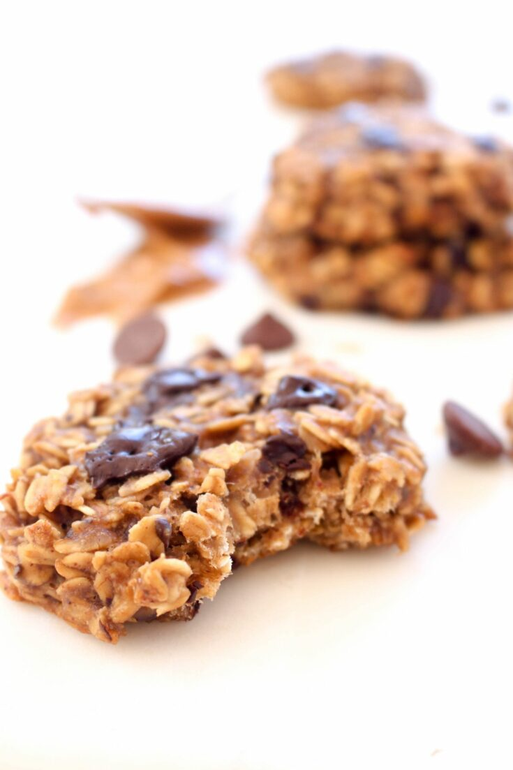 Peanut butter banana breakfast cookies recipe