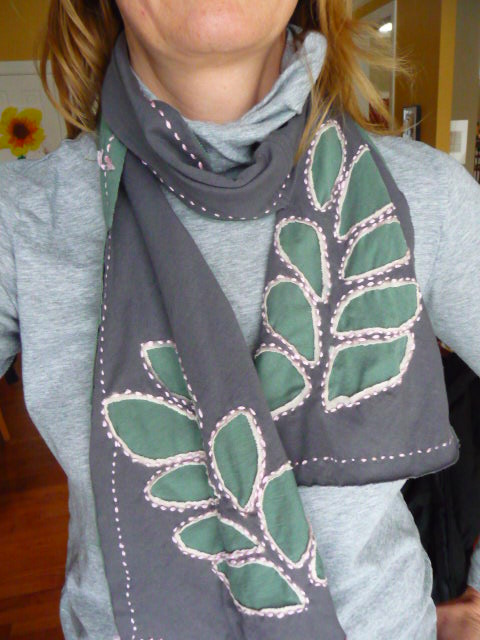 Recycled scarf