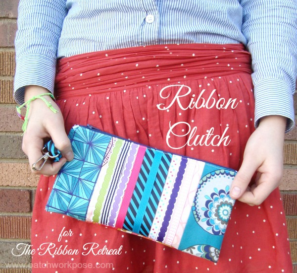 Ribbon clutch