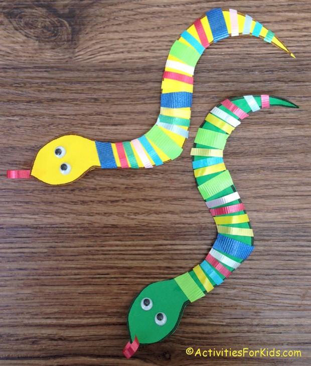 Ribbon snake craft