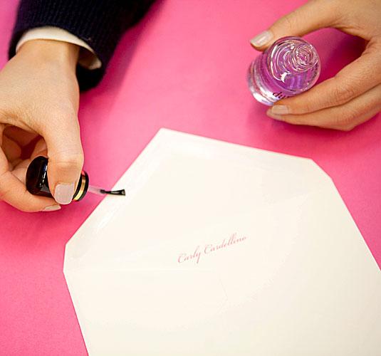 Seal an envelope