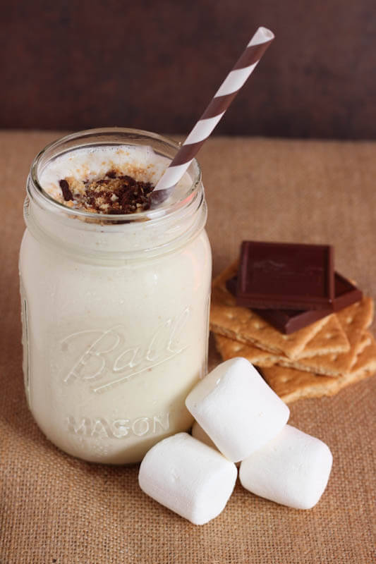 S'more milkshake