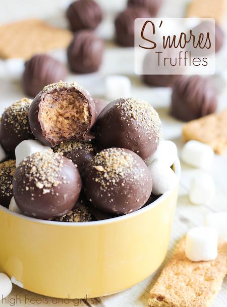 S'more truffles