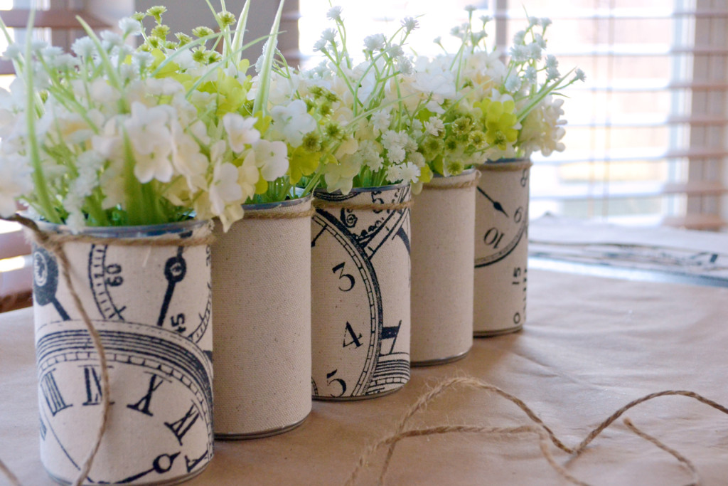 Using like table centerpiece