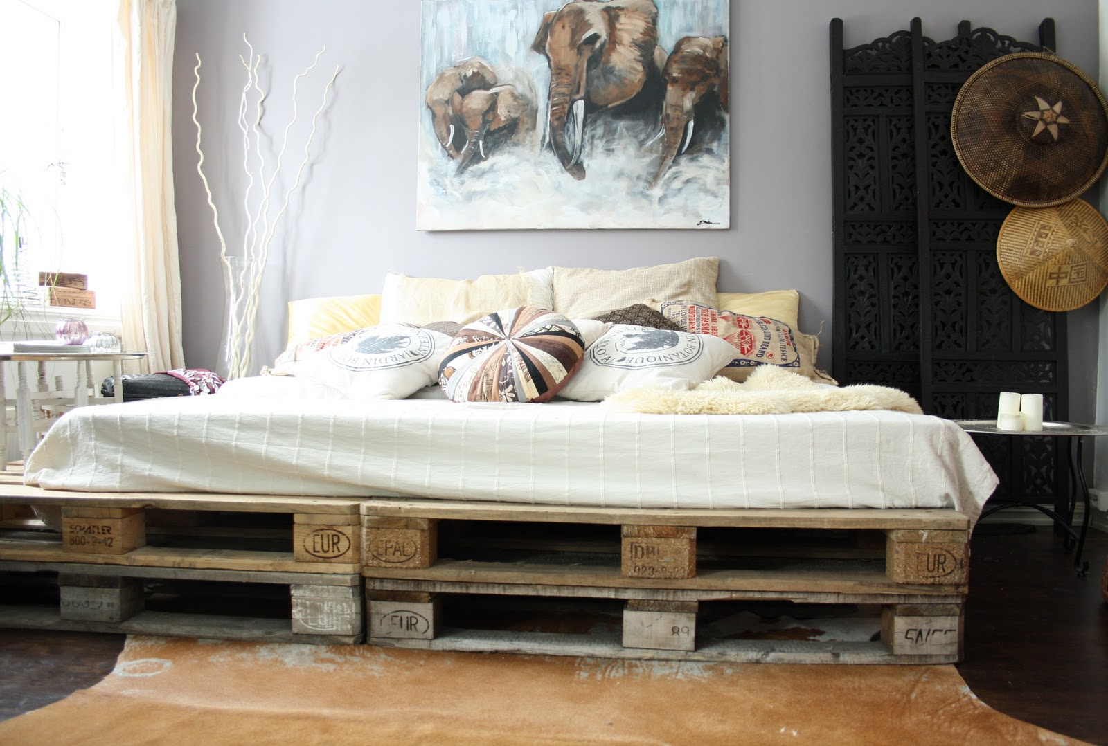21 DIY Bed Frames To Give Yourself The Restful Spot of Your Dreams!