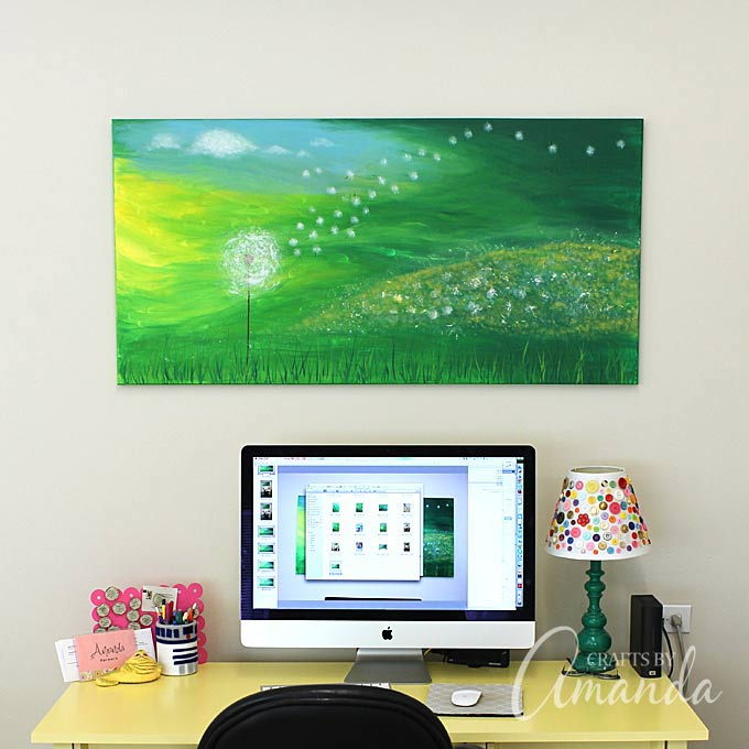Get Creative And Show Your Artistic Side With These 50 Canvas Art Projects